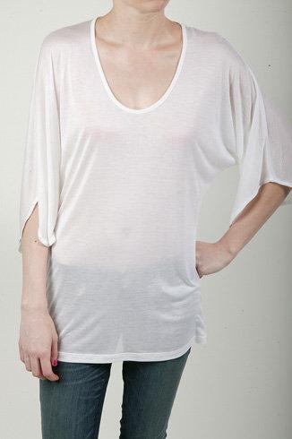 Kain Kimono Tee – White