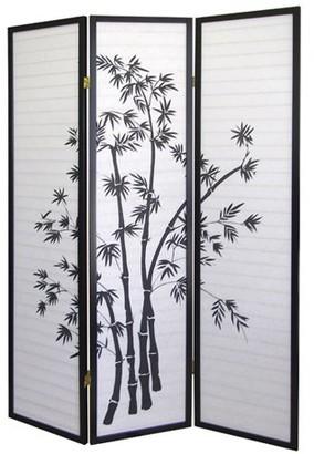 Ore International ORE International 3-Panel Room Divider, Bamboo