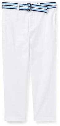 Ralph Lauren Little Boy's Belted Stretch Skinny Chino Pants
