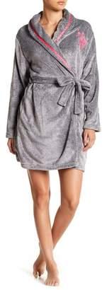 U.S. Polo Assn. Yarn Plush Robe