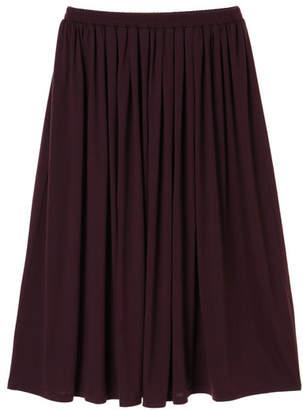 American Holic (アメリカン ホリック) - AMERICAN HOLIC カットマキシギャザーロングスカート