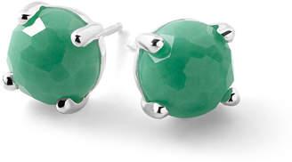 Ippolita Silver Rock Candy Mini Stud Earrings in Chrysoprase