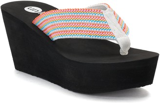 Rocket Dog Unleashed By Unleashed by Dandelion Women's Wedge Sandals