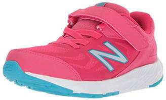 New Balance Boys' 519v1 Hook and Loop Running Shoe