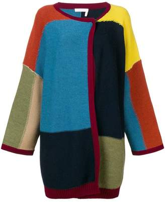 See by Chloe colour-block cardigan