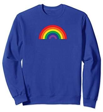 Modern rainbow sweatshirt