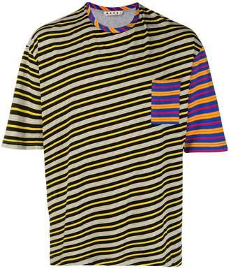 Marni striped print T-shirt