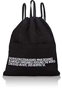 Calvin Klein Men's Drawstring Backpack - Black