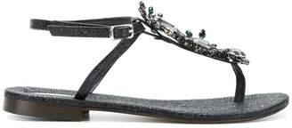 Emanuela Caruso embellished sandals