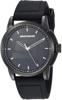 Skechers Men's Quartz Metal and Rubber Casual Watch, Color (Model: SR5110)