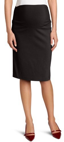 Ripe Maternity Women's Suzie Pencil Skirt, Black, Small