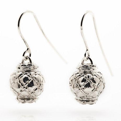 Gump's Sterling Silver Lantern Earrings