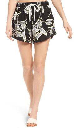 Women's Obey Jones Print Shorts $59 thestylecure.com