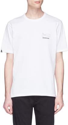 Denham Jeans 'Kamon' graphic print T-shirt