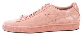 Puma x M.A.C. Suede Low-Top Sneakers w/ Tags