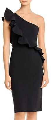 Chiara Boni Marine Ruffled One-Shoulder Dress - 100% Exclusive
