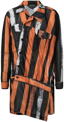 Comme des Garcons Tokyo Inkjet mesh jacket