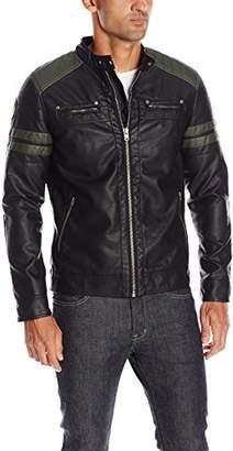 Buffalo David Bitton Men's Jagger Coated Pu Fashion Jacket