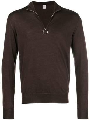 Eleventy high neck cashmere sweater