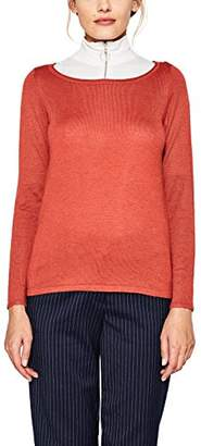 Esprit Women's 087ee1i026 Jumper, (Red 630), X-Small