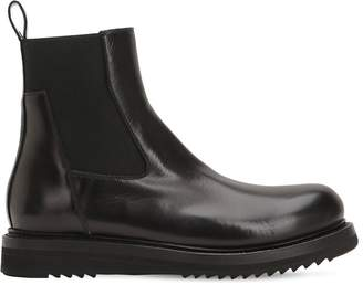 Rick Owens 30mm Leather Chelsea Boots