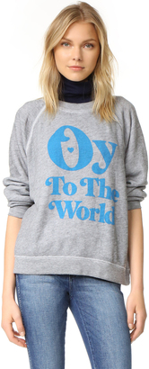 Wildfox Oy To The World Sweatshirt $114 thestylecure.com