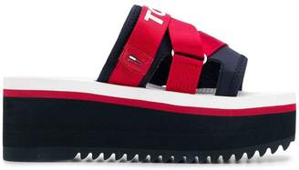 Tommy Hilfiger chunky heel sandals