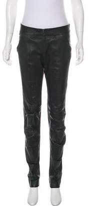 Zero Maria Cornejo Mid-Rise Straight Leg Pants
