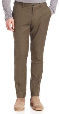 Vince Wool Flannel Slim Trousers