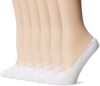 Peds Women's Ultra Sheer Seamless Low Cut Liner No Show Socks 6 Pairs