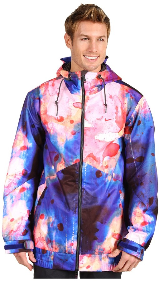 Nike Action - Kampai Printed Snow Jacket (Deep Royal Blue) - Apparel