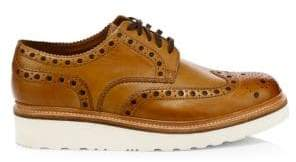 Grenson Archie Wedge Leather Wingtip Brogues