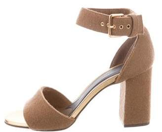 Marni Textured Sandal Heels