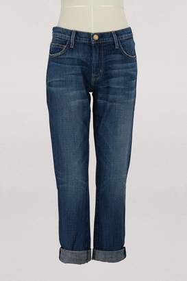 Current/Elliott Current Elliott The Fling relaxed fit jeans