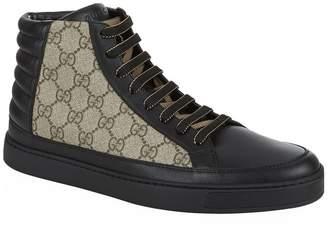 e90a7f371b2c Gucci High-top Trainers Men - ShopStyle UK
