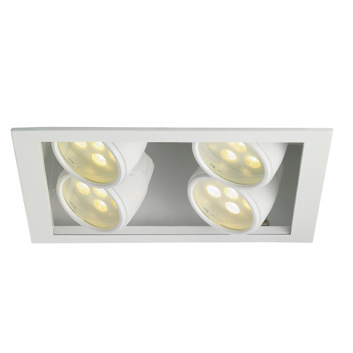 W.A.C. Lighting 4 Light 2X2 LED Multiple Recessed Trim