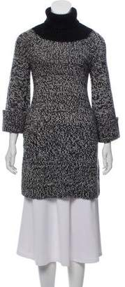 Derek Lam Wool & Mohair Blend Turtleneck Sweater