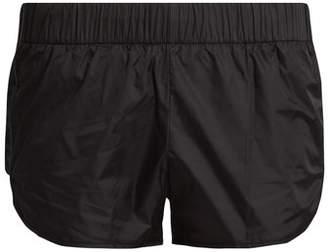 Versace Nylon Performance Shorts - Womens - Black