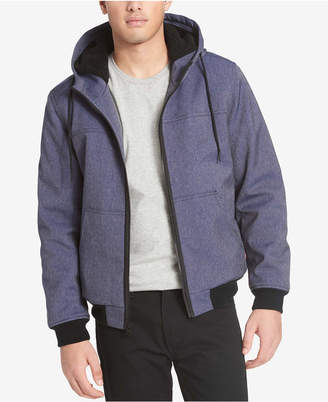 Levi's Men's Soft Shell Jacket with Fleece-Lined Hood