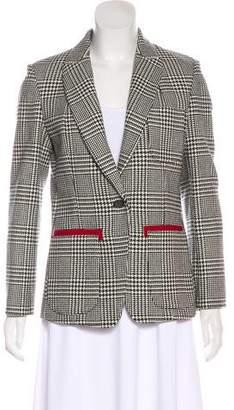 Paul Smith Wool Plaid Blazer