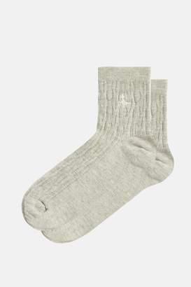 Jack Wills Brameld Cable Ankle Socks