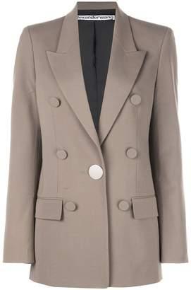Alexander Wang buttoned blazer