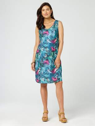 Jeanswest Skyla Maternity Print Dress-Multi Black-XS