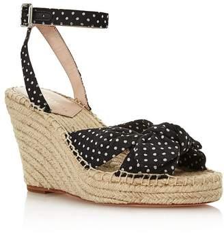 Loeffler Randall Women's Tessa Espadrille Wedge Sandals