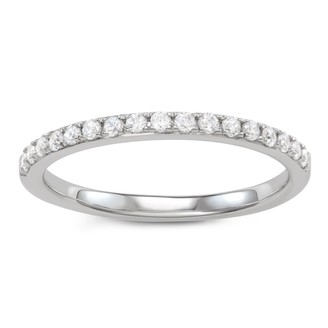 Vera Wang Simply Vera 14k Gold 1/4 Carat T.W. Diamond Ring