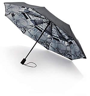 Saks Fifth Avenue Women's Saks-Printed Lining Umbrella