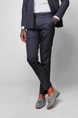 boohoo Crepe Skinny Fit Suit Pants