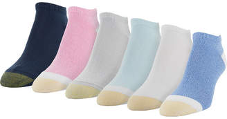 Gold Toe 6-Pk. Casual Ultra-Soft Liner Socks 5940F8