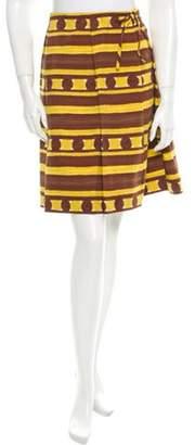 Marni Printed Skirt Yellow Printed Skirt