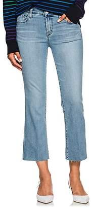J Brand Women's Selena Mid-Rise Crop Jeans